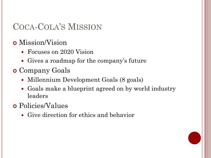 Coca-Cola's Mission