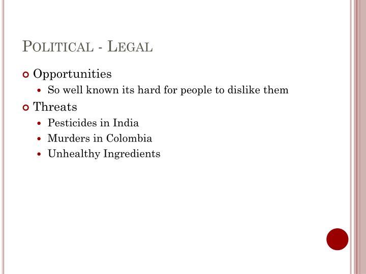 Political - Legal