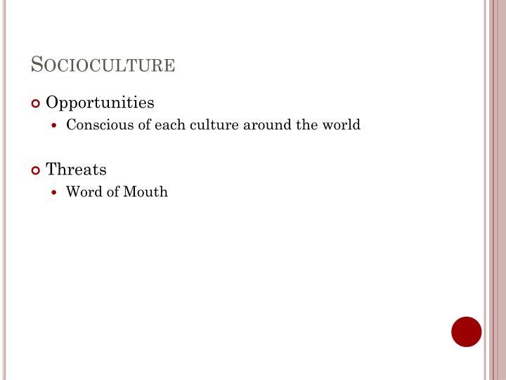 Socioculture