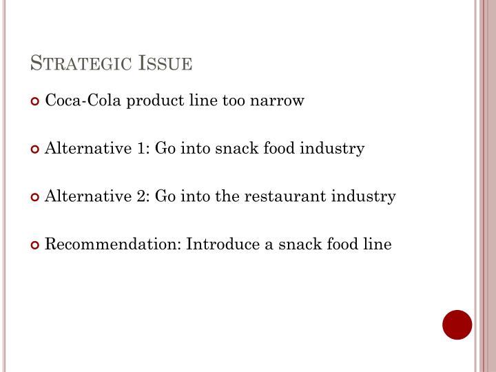 Strategic Issue