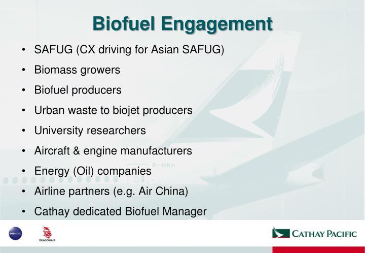 Biofuel Engagement