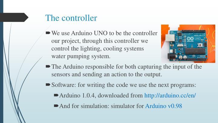 The controller