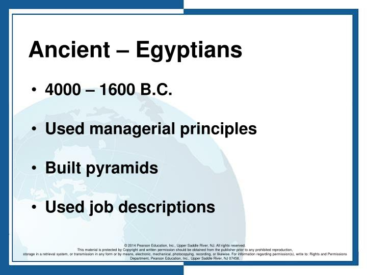 Ancient – Egyptians