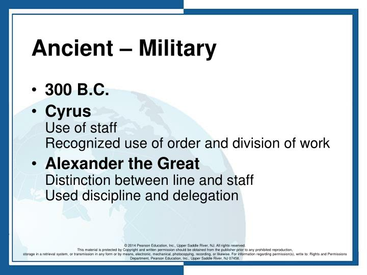 Ancient – Military
