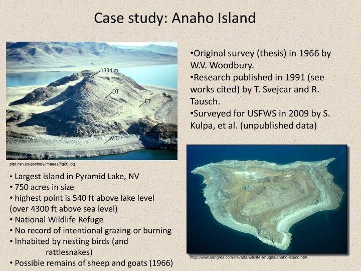 Case study: Anaho Island