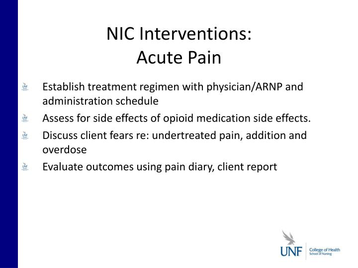NIC Interventions: