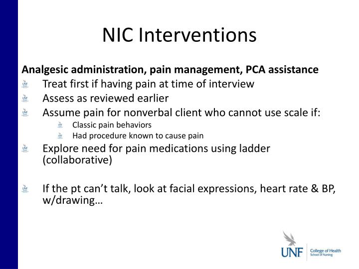 NIC Interventions