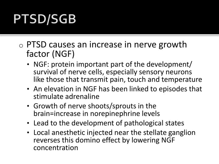 PTSD/SGB