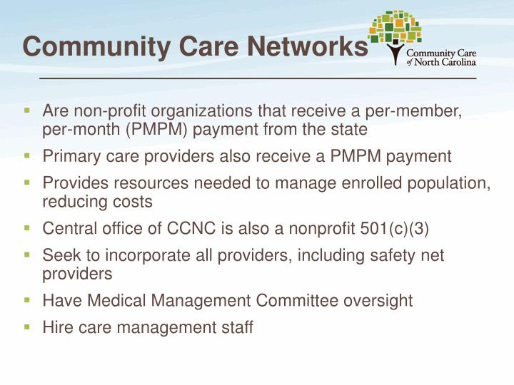 Community Care Networks