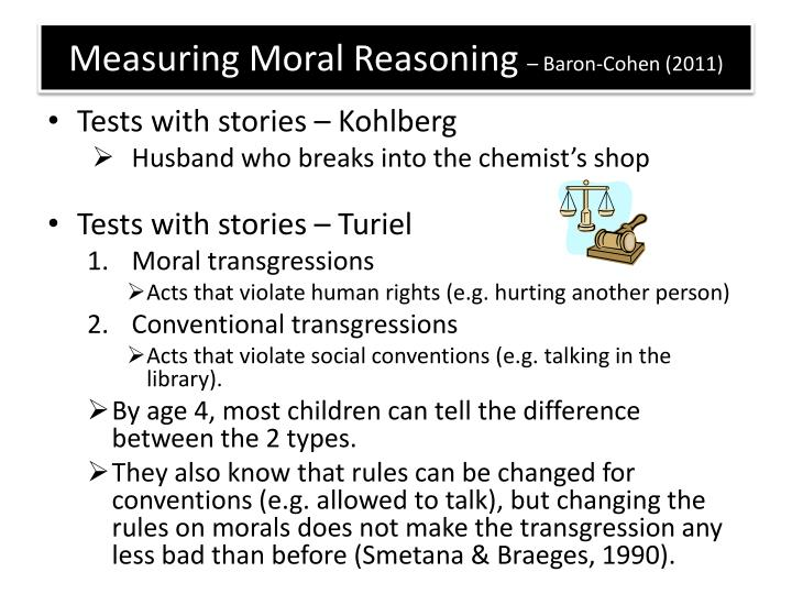 Measuring Moral Reasoning