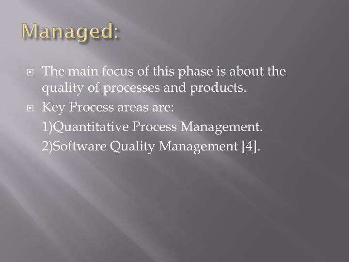 Managed: