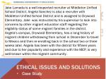 ethical issues and solutions