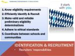 identification recruitment1