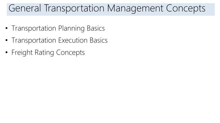 ppt transportation management in microsoft dynamics ax