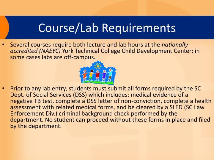 Course/Lab