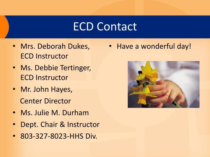 ECD Contact