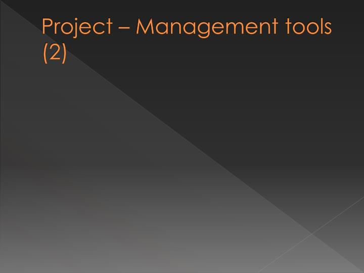 Project – Management
