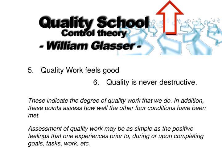 5. Quality