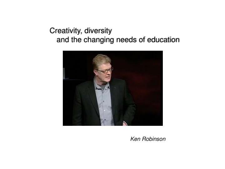 Creativity, diversity