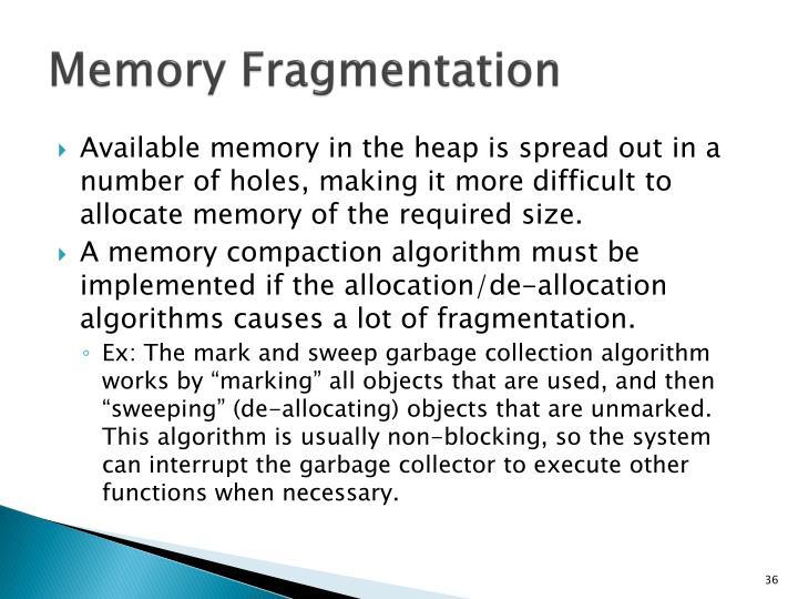 Memory Fragmentation