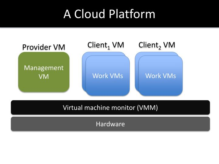 A Cloud Platform
