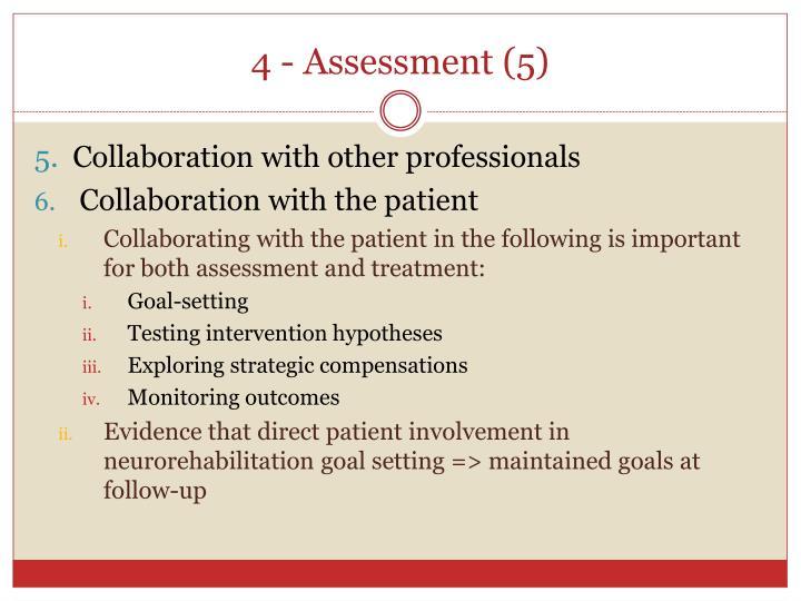 4 - Assessment (5)