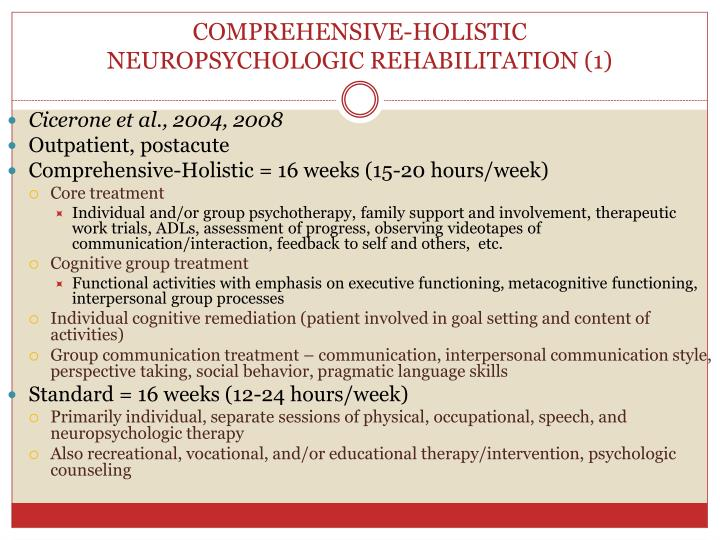 COMPREHENSIVE-HOLISTIC