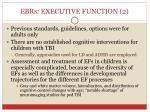 ebrs executive function 2