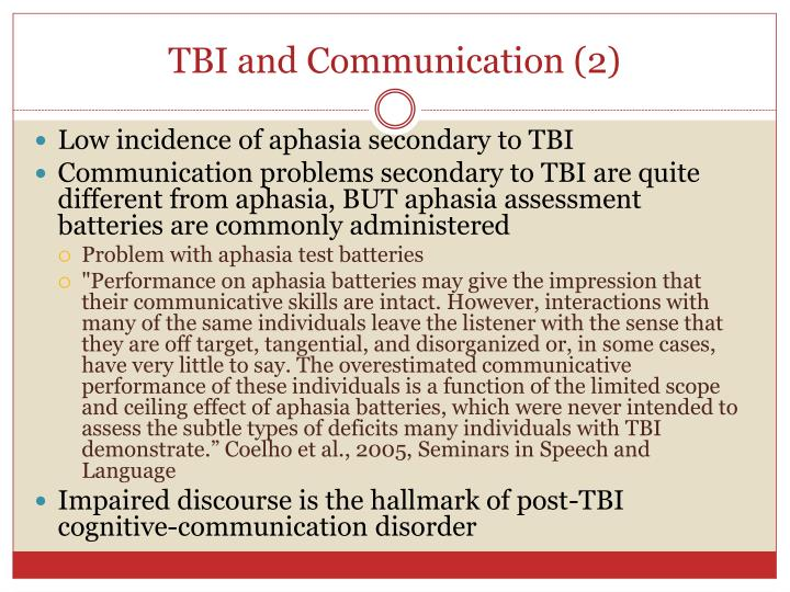 TBI and Communication (2)
