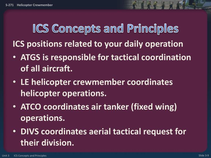 ICS Concepts and Principles