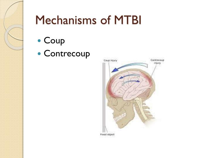 Mechanisms of MTBI