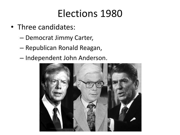 Elections 1980