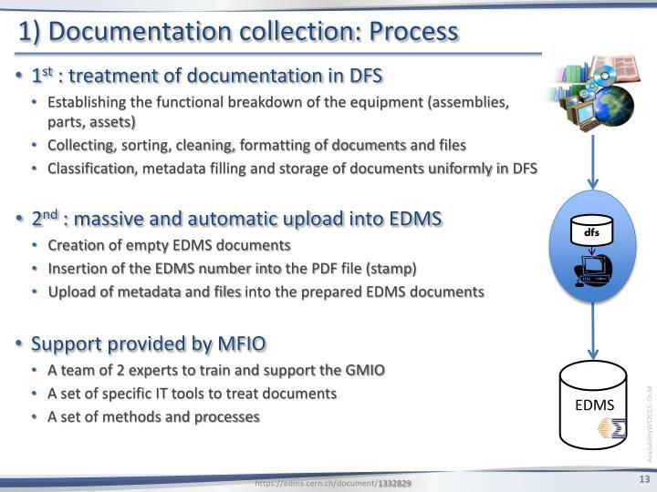 1) Documentation