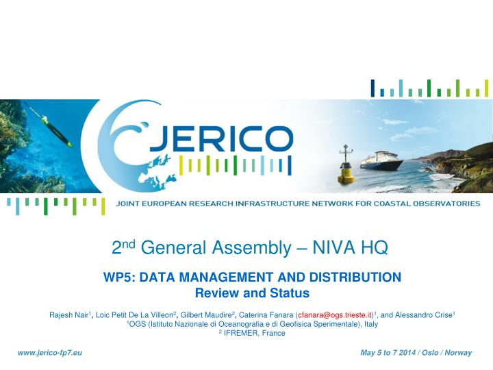 2 nd general assembly niva hq