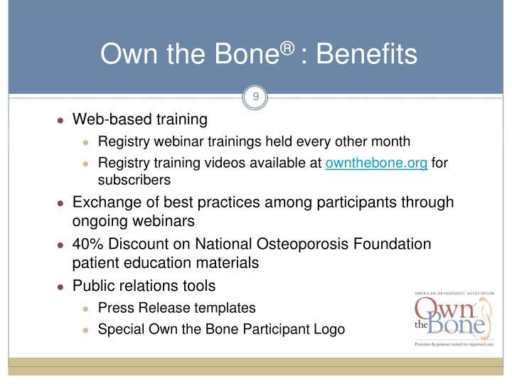 Own the Bone