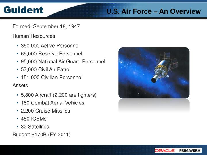 U s air force an overview