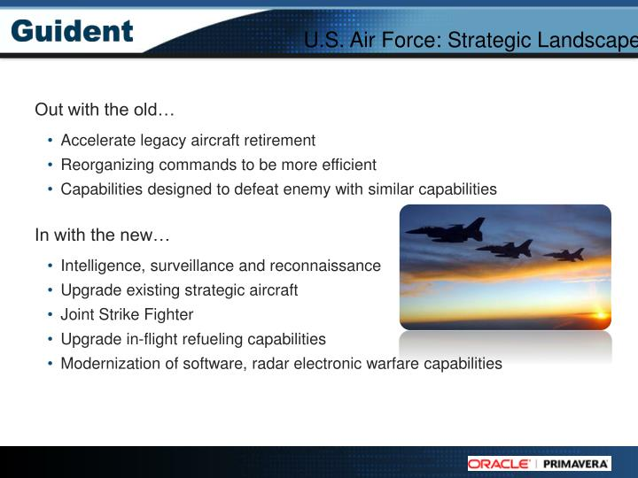 U.S. Air Force: Strategic Landscape