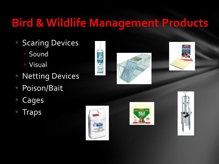 Bird & Wildlife Management Products