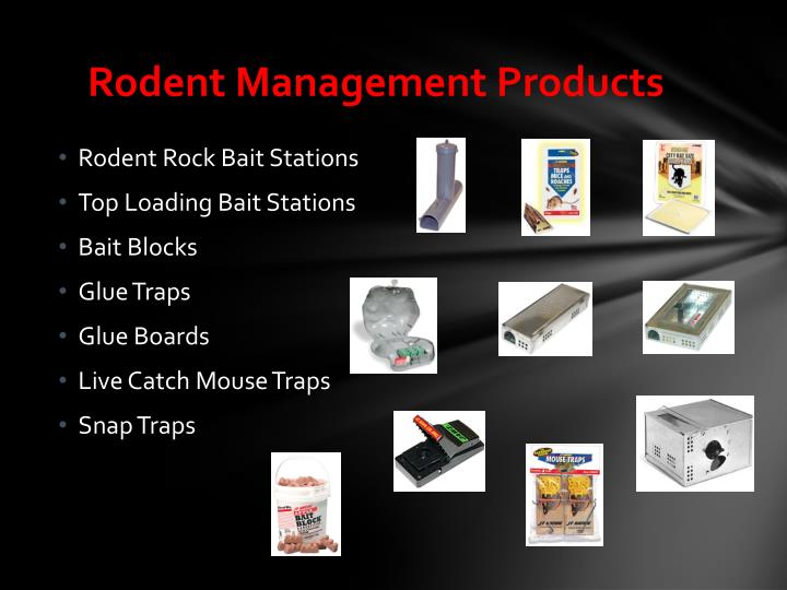 Rodent Management Products