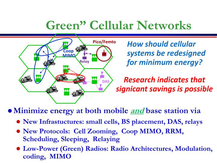 "Green"" Cellular Networks"