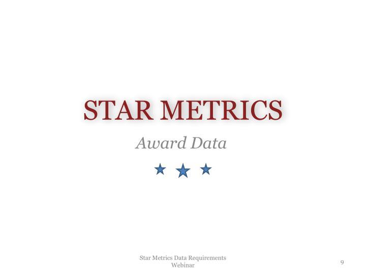 STAR METRICS