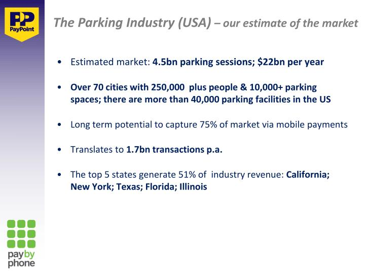 The Parking Industry (USA)