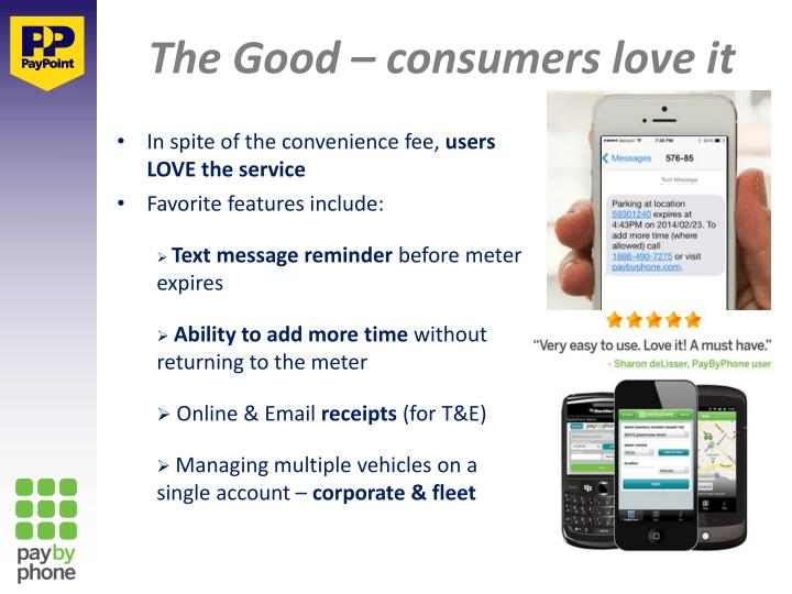 The Good – consumers love it