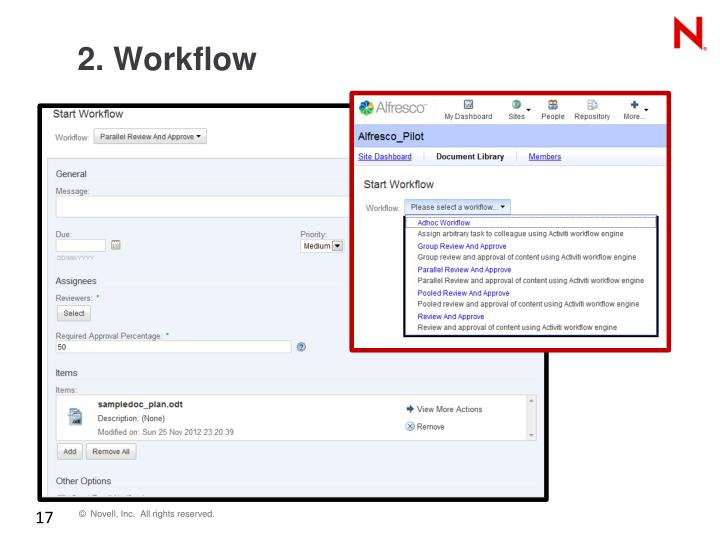 2. Workflow
