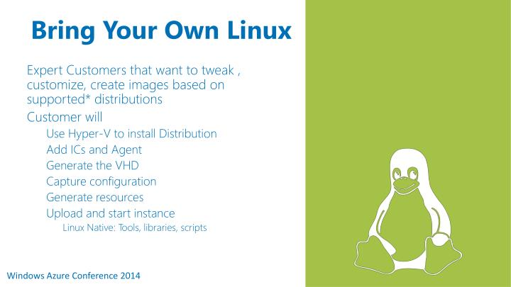 Bring Your Own Linux