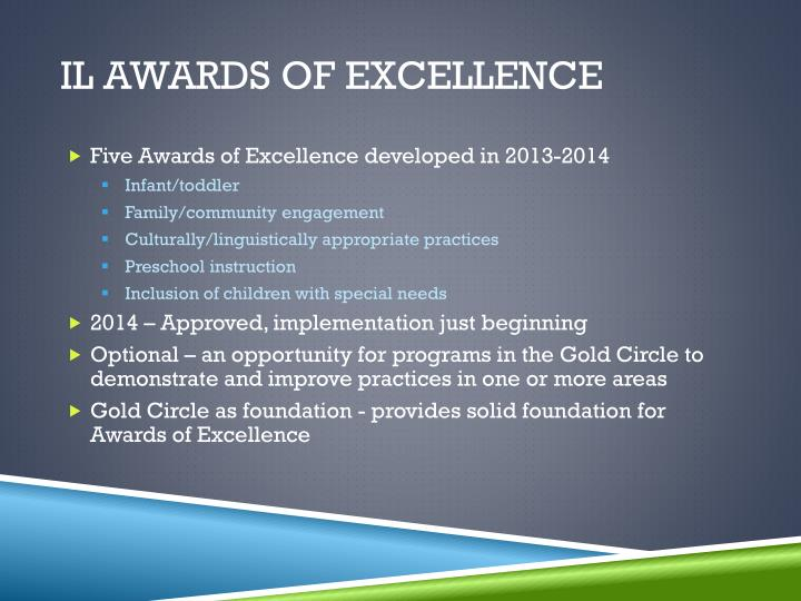 IL Awards of Excellence