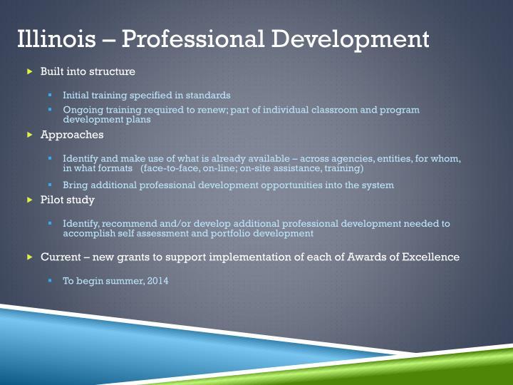 Illinois – Professional Development