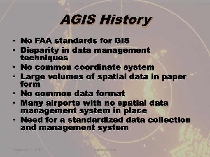 AGIS History