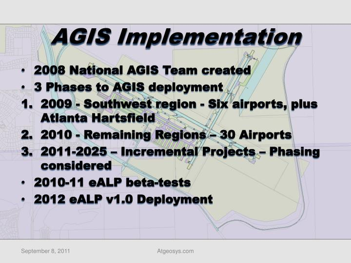 AGIS Implementation