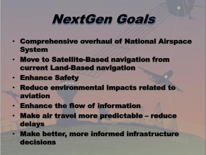 NextGen Goals